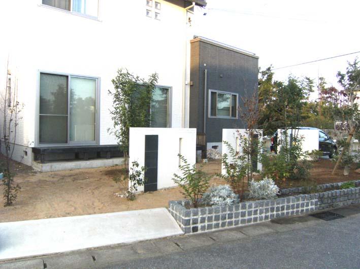 広いお庭に、緑の森を♪/坂井市S様邸