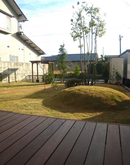 ペットと遊べる多機能ガーデン/福井市H様邸