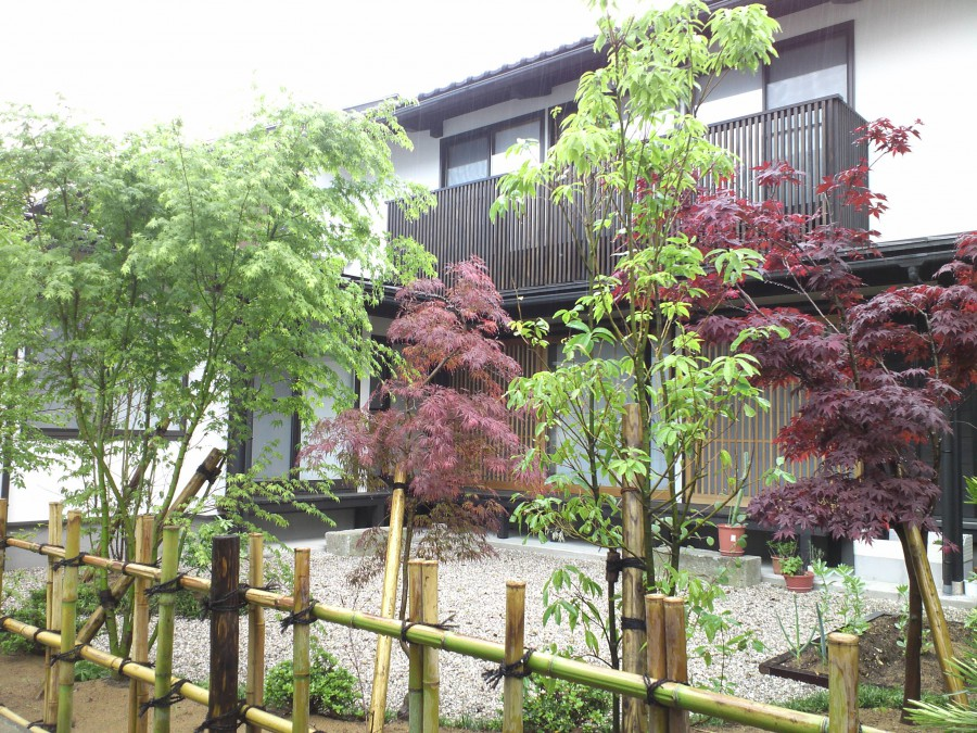 もみじの集う庭/福井市Y様邸