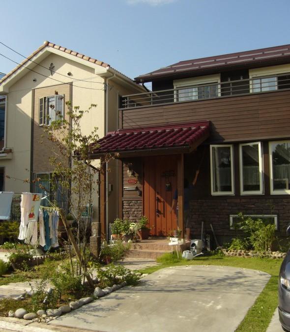 まあるい駐車場/福井市K様邸