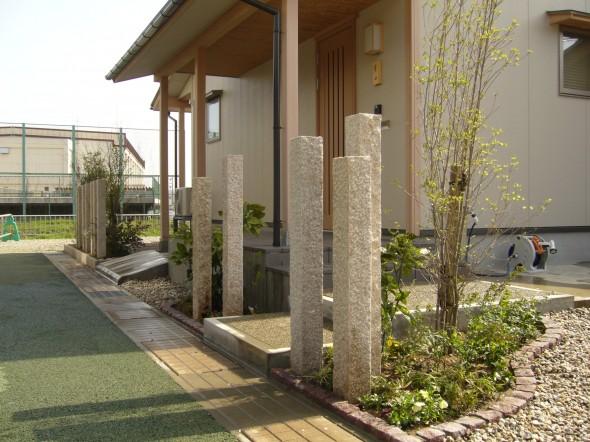 和みのフロントガーデン/福井市M様邸