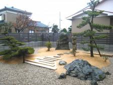 新しいお家で和庭をリガーデン/福井市H様邸
