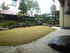 和庭が広々芝庭に☆/福井市S様邸