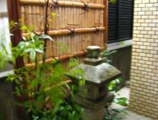 建仁寺垣のある坪庭/福井市S様邸