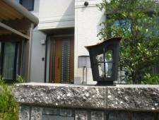レトロランプひとつでリ・ガーデンを楽しむ/福井市T様邸