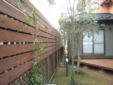 タカショーeウッドでフェンスリフォーム/福井市T様邸