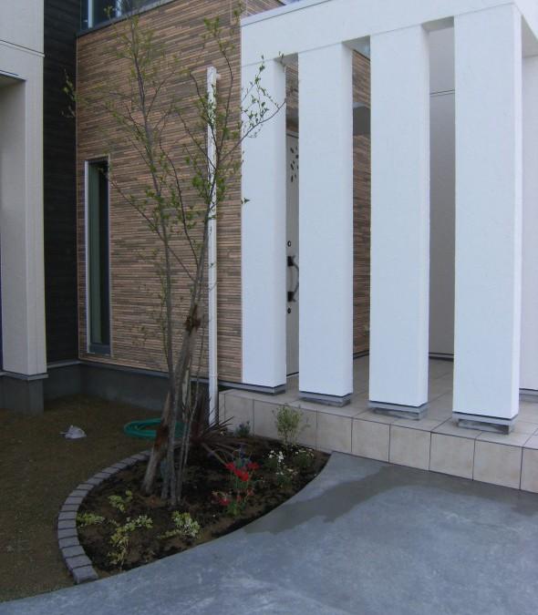 エゴの木のシンボルツリー/福井市O様邸