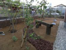 記念樹のある庭/福井市Y様邸