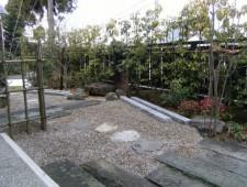 シャクダニ石でリフォーム和庭/福井市M様邸