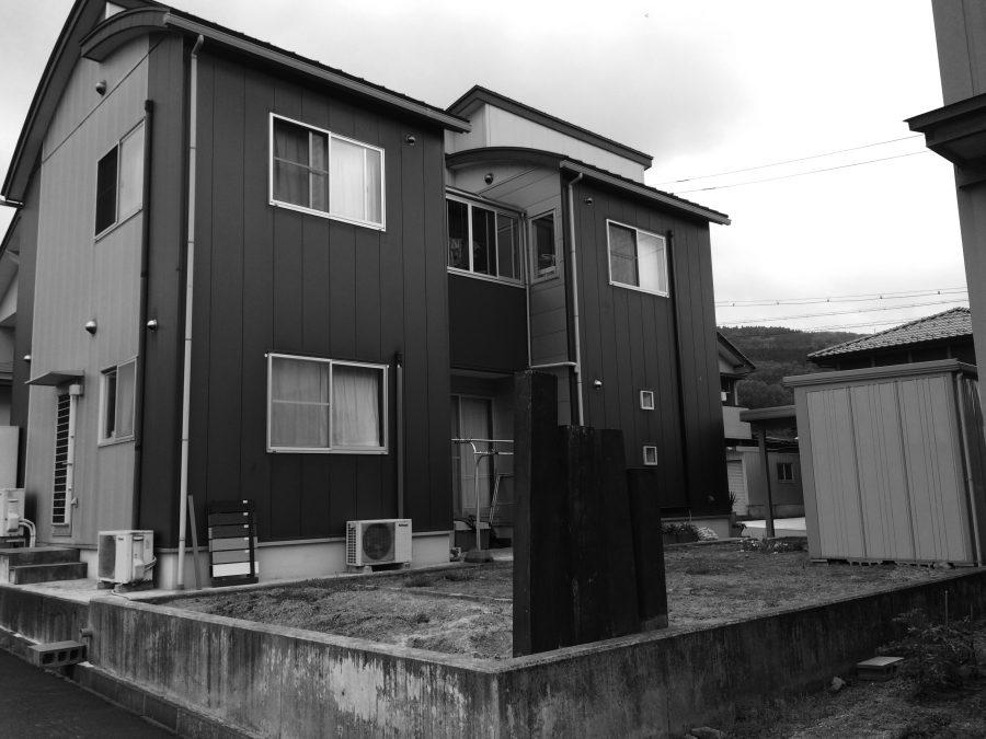 アクセントカラーのフェンス 福井市N様邸