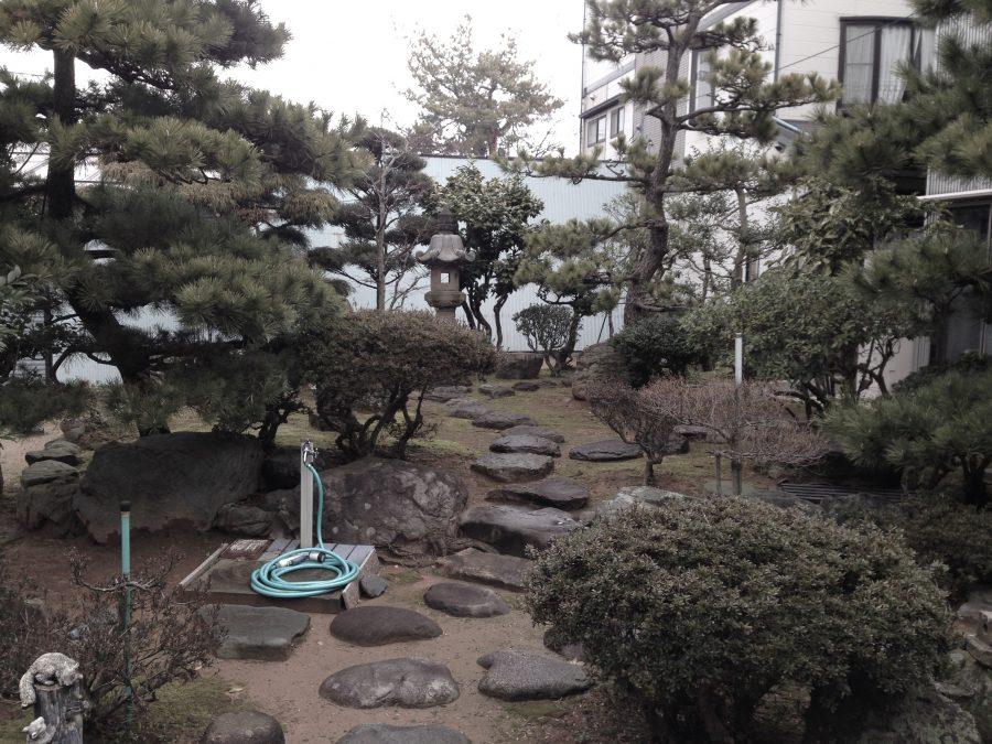 和庭の雑草対策 福井市K様邸