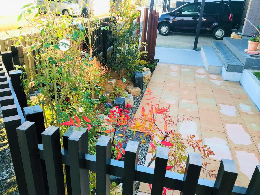 和庭から私庭へ。